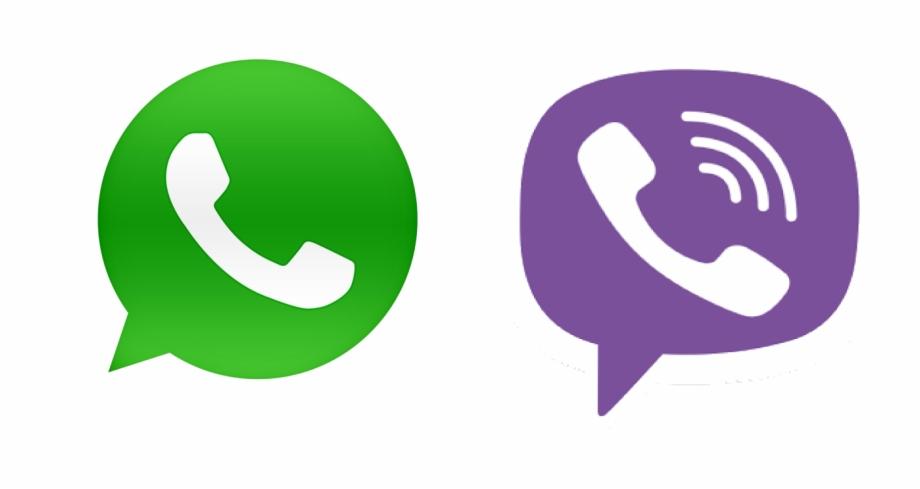 Доступны Viber и WhatsApp
